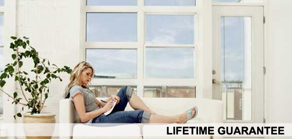 Lifetime Window Fittings Guarantee